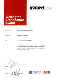 Wellington Architecture Award