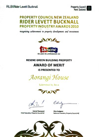 Wellington Green Building Property Award