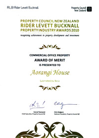 Wellington Office Property Award
